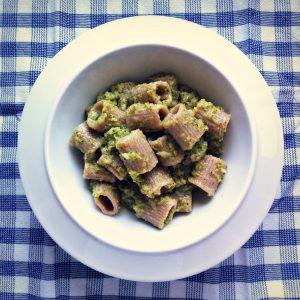 Pasta semplice e veloce: Truciolotti di Solina con crema di broccolo e salciccia