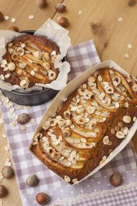 Torta di mele, nocciole e avena – An apple, hazelnut and oat cake