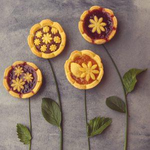 """Crostatine """"fiori di maggio"""""""