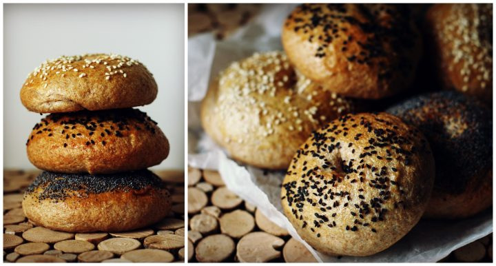 bagel cotti Collage