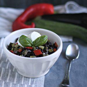 Insalata di riso Venere Tricolore – ricetta expressa