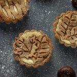 Crostata del castagno – frolla alle castagne con crema al marron glacè