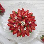 Cheesecake alle fragole (senza cottura)